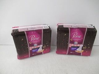 Poise Overnight Incontinence Pads for Women