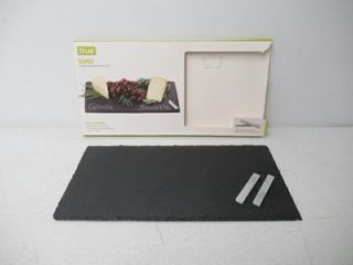 Used  Slate Cheese Board And Chalk Set by True
