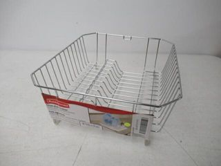 As Is  Rubbermaid Small Dish Drainer with