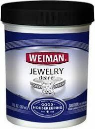 Weiman Jewelry Cleaner liquid Restores Shine and