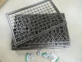Used  SMONTER Sturdy 38  Metal Dog Cage with