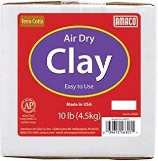 Amaco 4630 1A Air Dry Modeling Clay  10 Pound