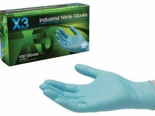 AMMEX Industrial Nitrile Disposable Gloves   3