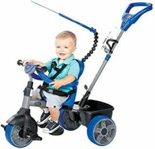 little Tikes 4 in 1 Ride On  Blue  Basic Edition