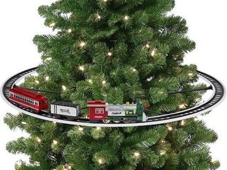 Mr  Christmas Oversized Animated Train Around The