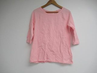 Hanes Women s large 3 4 Sleeve T Shirt  Pink