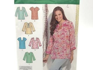 Simplicity Pattern 1461 Women s Tunic with
