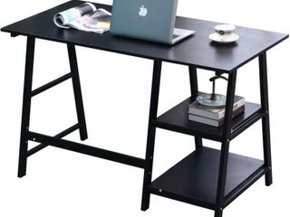 DlandHome 55  Computer Desk with 2 Multifunctional