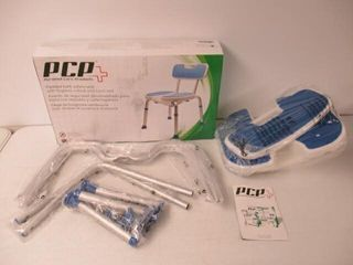 PCP Shower Safety Seat  Cutout for Easy Cleaning