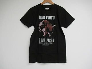 Pink Floyd Adult Small In The Flesh Crew Neck