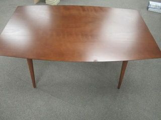 As Is  Walker Edison 60 Dining Table in Acorn