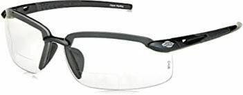 ES5 Reader Crossfire Safety Glasses Clear Diopter