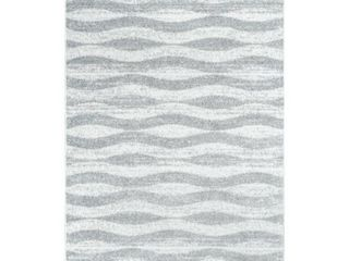 nuloom Tristan Modern Striped Gray 5  x 8  Area