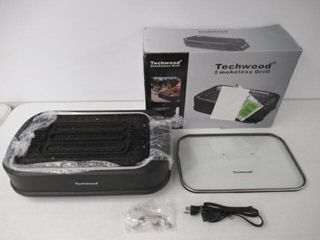 Used  Techwood Indoor Smokeless Grill 1500W Power