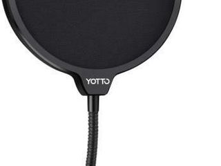 YOTTO Microphone Pop Filter Upgrade Dual layered