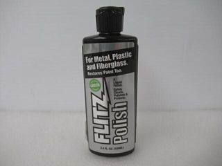 As Is  Flitz lQ 04535 Green Metal  Plastic and