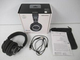As Is  Audio Technica ATH M50xBT Wireless