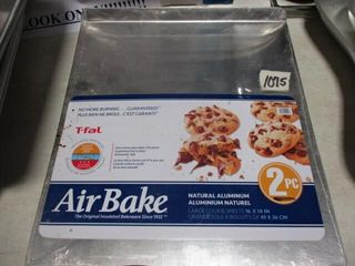 2 Pc  Air Bake Cookie Sheets