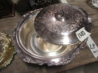 Covered Silver Pan