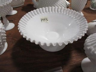 Fenton Milk Glass Bowl