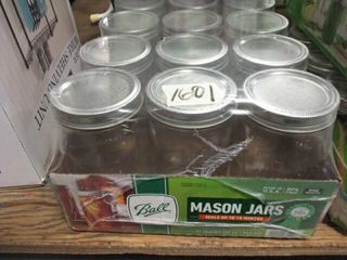 12  Ball Quart Jars