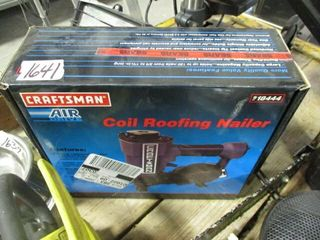 Craftsman Air Coil Roofing Nailer