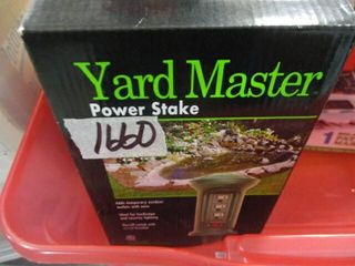 Yard Master Power Stake