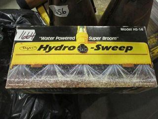 Hydo Sweep Water Powered Super Broom