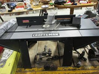Craftsman Router Stand