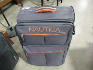 Nautica Suit Case
