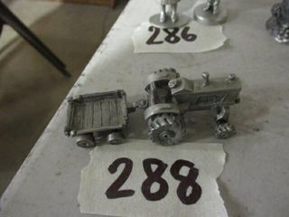 Pewter Tractor w   Trailer