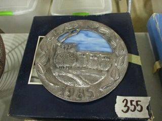 1985 Pewter Mother s Day Plate