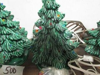 Miniature Ceramic Christmas Tree
