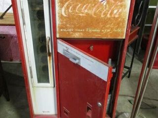 Coca Cola Bottle Pop Deispening Machine