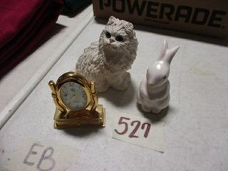 Kitten  Clock   Rabbit