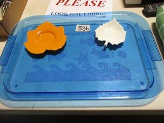Blue Plastic Tray