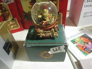 Snow Globe Music Box