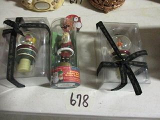 Christmas Bottle Toppers