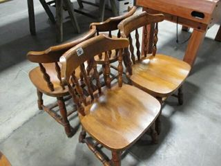 4  Diningroom Chairs