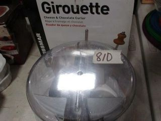 Girouette Cheese   Chocolate Curler