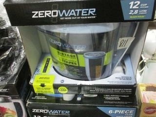 Zerowater 12 Cup Pitcher Set NIB
