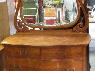 Dresser w  Bevel Edge Mirror
