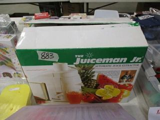 Juiceman Jr  Auto Juice Extractor
