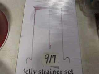 Jelly Strainer Set