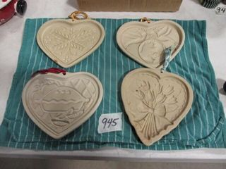 Pampered Chef Heart Molds