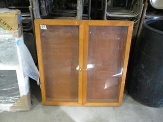 36  x 36  Glass Display Case