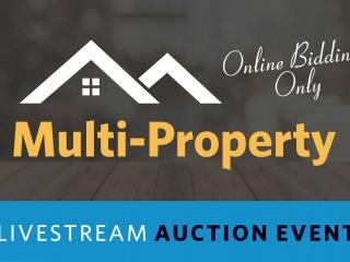 17 Wichita Area Properties!!! Multi-Property Live Stream Auction Event