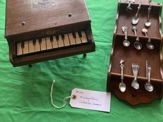 Miniature Grand piano  Spoons