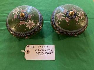 Cloisonn e design Bowls