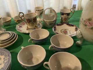 Tea set and Misc